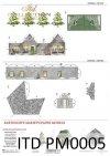 casas de cartón, modelos de papel, modelos de cartón*Kartonhäuser, Papiermodelle, Kartonmodelle*картонные домики, бумажные макеты, картонные макеты