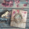 rice paper * shabby chic * example - 1