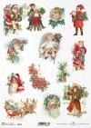 Christmas, winter, Santa Claus, presents, Christmas tree, children, reindeer,