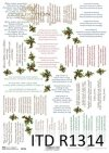 papier decoupage kolędy*paper decoupage carols*Papier-Decoupage-Weihnachtslieder*villancicos de papel decoupage*бумажные декупажские колядки