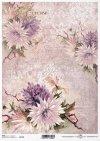 decoupage Papierblumen*flores de papel decoupage