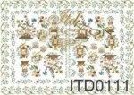 Papier decoupage ITD D0111M
