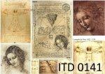 Papier decoupage ITD D0141M