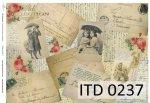 Papier decoupage ITD D0237M
