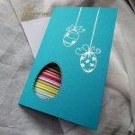 Пасхальная открытка с конвертом KW190
