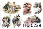 Papier decoupage ITD D0239M