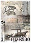 рисовая бумага для декупажа R0530
