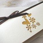 Einladungskarten / Hochzeitskarte 01734_58_gelb