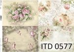 Decoupage paper ITD D0577