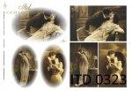Decoupage Paper ITD D0323M