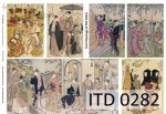 Decoupage paper ITD D0282