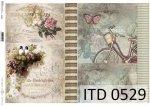 Decoupage paper ITD D0529