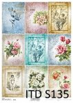 Decoupage paper Soft ITD S0135