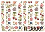 Decoupage paper ITD D0001