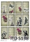 Decoupage paper Soft ITD S0138