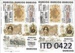 Decoupage paper ITD D0422