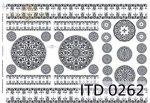 Decoupage paper ITD D0262