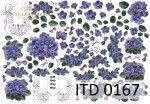 Decoupage paper ITD D0167M