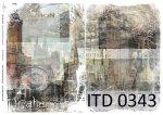 Decoupage paper ITD D0343