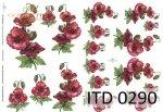 Decoupage paper ITD D0290