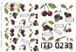 Decoupage paper ITD D0231