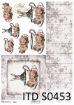 Decoupage paper Soft ITD S0453