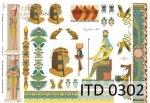 Decoupage paper ITD D0302M