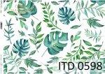 Decoupage paper ITD D0598