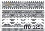 Papier decoupage ITD D0259
