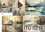Papier decoupage ITD D0216M