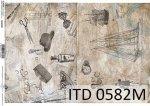 Papier decoupage ITD D0582M