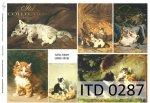 Papier decoupage ITD D0287