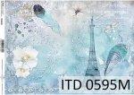 Papier decoupage ITD D0595M