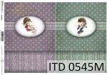 Papier decoupage ITD D0545M