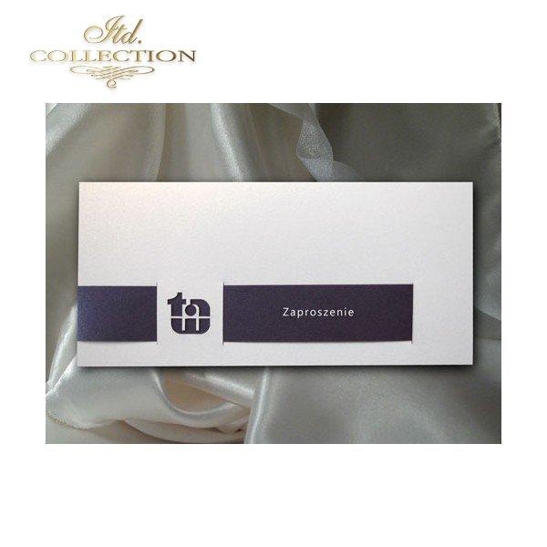 Zaproszenie Biznesowe Zb1013 Eleganckie Kartki I Zaproszenia Dla