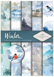 .Papier do scrapbookingu SCRAP-019 ''Winter