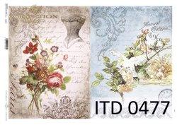 Papier decoupage ITD D0477M