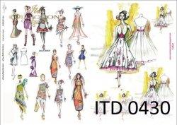 Papier decoupage ITD D0430M