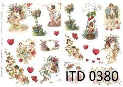 Papier decoupage ITD D0380