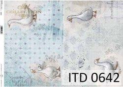 Papier decoupage ITD D0642
