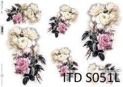Papier decoupage SOFT ITD S0051L