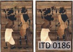 Papier decoupage ITD D0186M