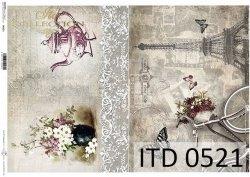 Papier decoupage ITD D0521