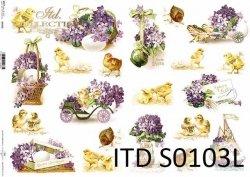 Papier decoupage SOFT ITD S0103L