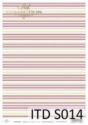 Papier decoupage SOFT ITD S0014
