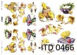 Papier decoupage ITD D0466M