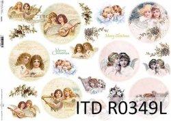 Papier ryżowy ITD R0349L