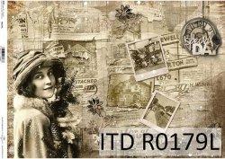 Papier ryżowy ITD R0179L