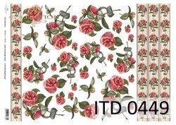 Papier decoupage ITD D0449M