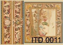 Papier decoupage ITD D0011M